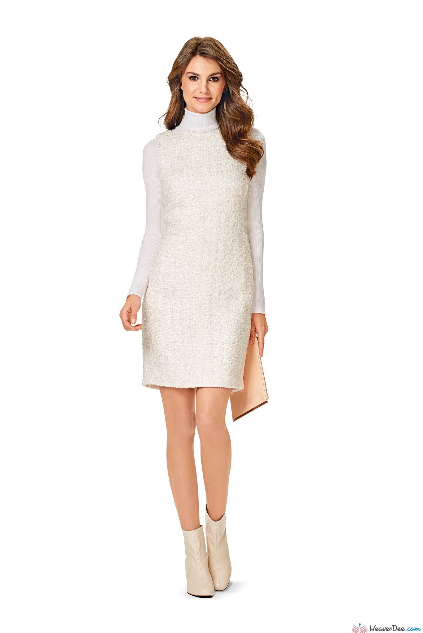Burda Pattern: BD6609 Shift Dress | EASY – WeaverDee.com