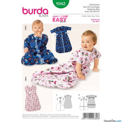 Burda - BD9382 Babies Sleeping Bag | Easy - WeaverDee.com Sewing & Crafts - 1