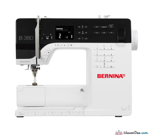 Bernina - Bernina 380 Sewing Machine - WeaverDee.com Sewing & Crafts - 1