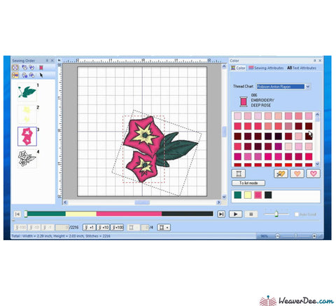 Brother PE-Design NEW Plus 2 Embroidery Software – WeaverDee.com