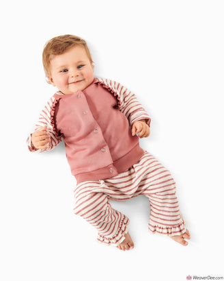 Burda Pattern BD9297 Babies' Sweatjacket & Pants