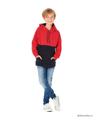 Burda Pattern BD9301 Children's Sweater – Hoodie – Hooded Top