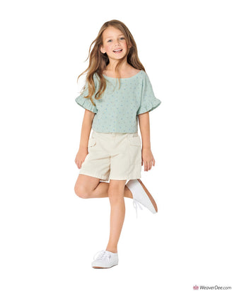 Burda Pattern BD9303 Children's Top