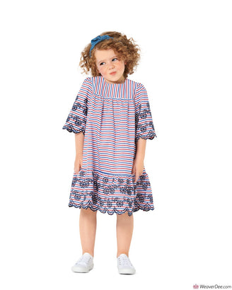 Burda Pattern BD9305 Children's Dress