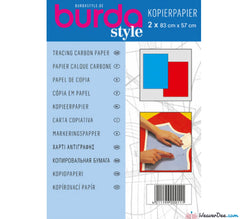 Burda - Burda Dressmaker's Carbon Paper [Blue & Red] - WeaverDee.com Sewing & Crafts