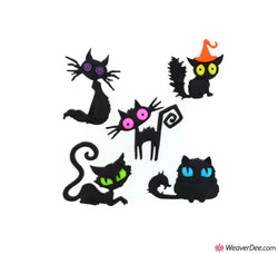 Dress It Up® Embellishment Buttons - Creeped Out Cats