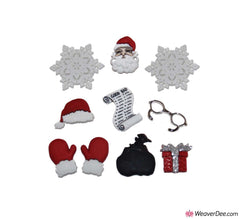 Dress It Up® Embellishment Buttons - Waiting For Santa
