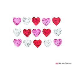 Dress It Up® Embellishment Buttons - Heart Magic