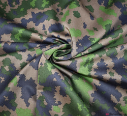 Camouflage Cotton Sateen Fabric