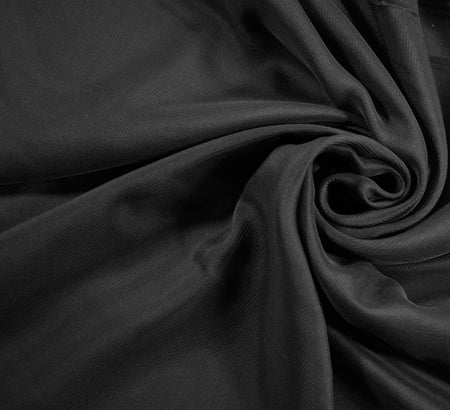 Chiffon Fabric / Black