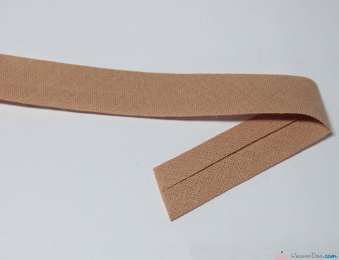 PRYM 100% Cotton Bias Binding / Sand