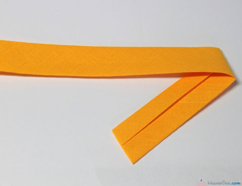 PRYM 100% Cotton Bias Binding / Yellow