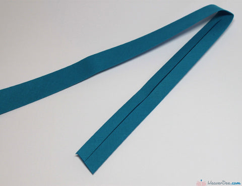 PRYM 100% Cotton Bias Binding / Dark Turquoise