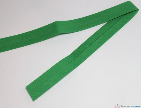 PRYM 100% Cotton Bias Binding / Grass Green