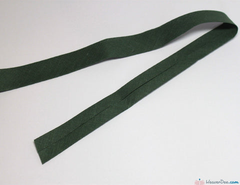 PRYM 100% Cotton Bias Binding / Moss Green