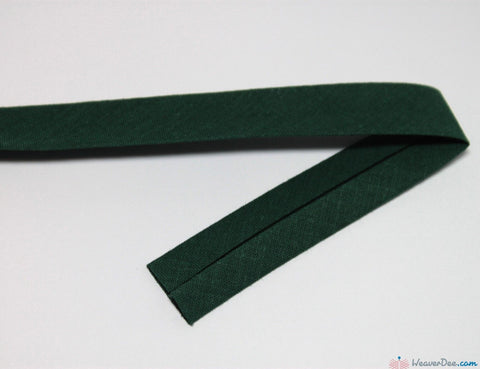 PRYM 100% Cotton Bias Binding / Fir Green