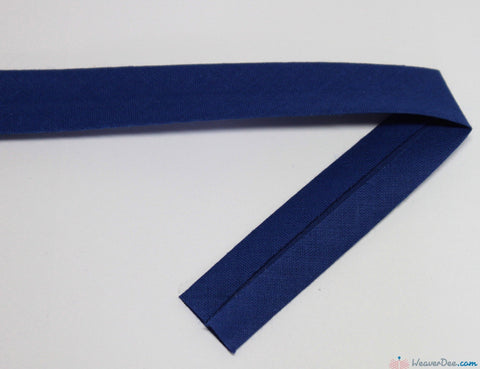 PRYM 100% Cotton Bias Binding / Royal Blue