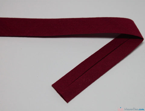 PRYM 100% Cotton Bias Binding / Wine