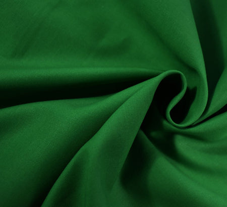 Plain Cotton Fabric / Emerald Green (60 Square)
