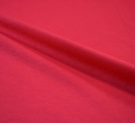 Cerise Pink Cotton Jersey Fabric (200gsm)