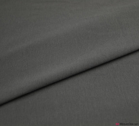 Grey Cotton Jersey Fabric (200gsm) Oeko-Tex
