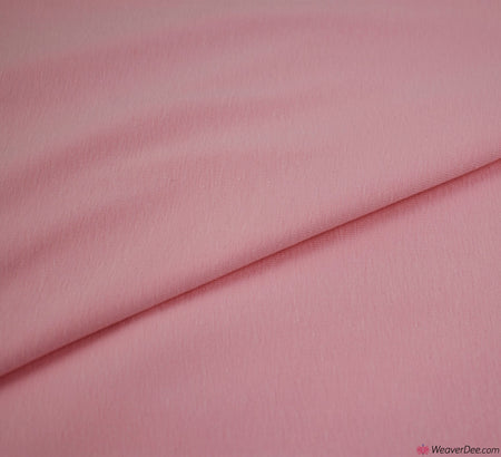 Light Pink Cotton Jersey Fabric (200gsm) Oeko-Tex