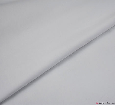 White Cotton Jersey Fabric (200gsm) Oeko-Tex