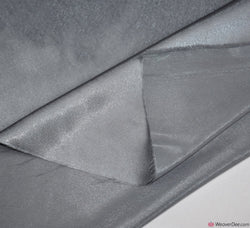 Crêpe Back Satin Fabric - Silver