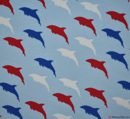 Dolphin Cotton Jersey Fabric (Oeko-Tex)