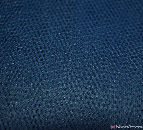 Dress Net Fabric - French Navy Blue