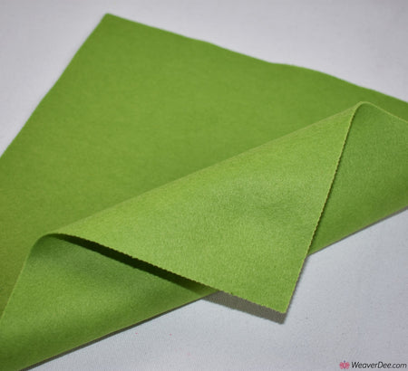 Felt Square - Leaf Green