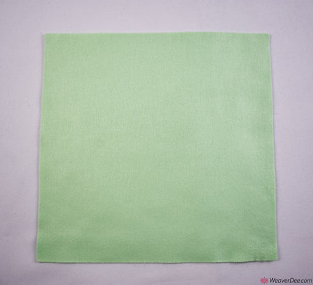Felt Square - Pale Green