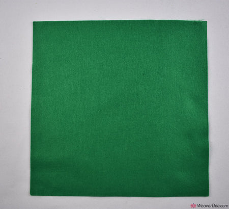 Felt Square - Emerald Green