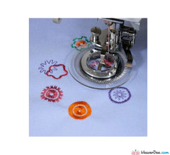*General Fitting - [*Universal] Flower Stitch Foot - WeaverDee.com Sewing & Crafts - 1