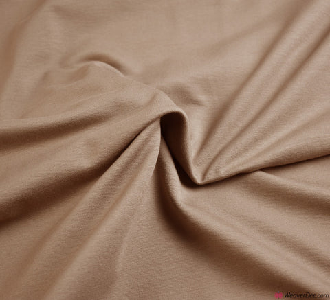 Premium French Terry Fabric - Beige
