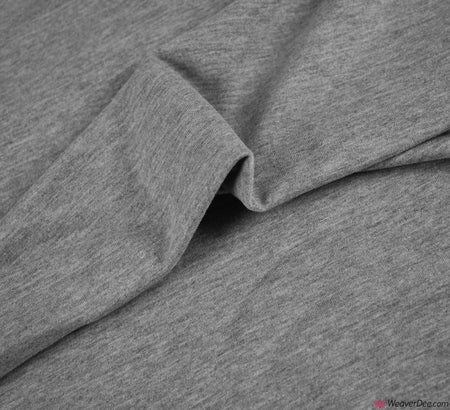 Premium French Terry Fabric - Grey