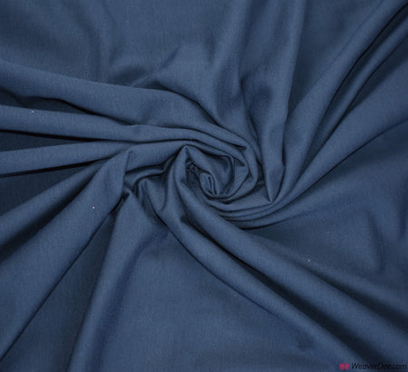 Premium French Terry Fabric - Navy Blue