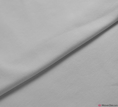 Premium French Terry Fabric - White