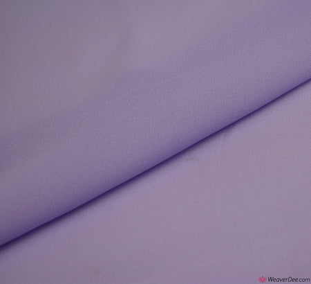 Georgette Fabric / Lilac