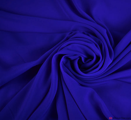 Georgette Fabric / Royal Blue