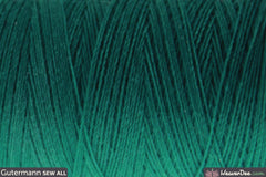 Gütermann - Sew-All Polyester Sewing Thread - Colour: #167 Blue Green - WeaverDee.com Sewing & Crafts - 1