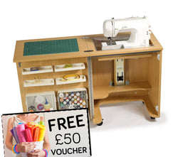 Horn Cub Plus 1010 Sewing Machine Cabinet + FREE £50 VOUCHER