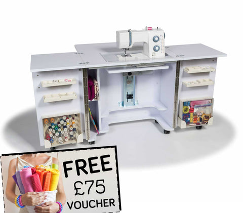 Horn Gemini 2011 Sewing Machine Cabinet + FREE £75 VOUCHER