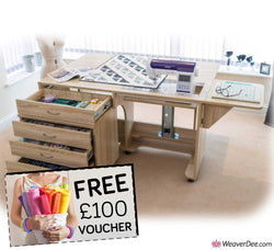 Horn Super Q Sewing Machine Cabinet + FREE £100 VOUCHER