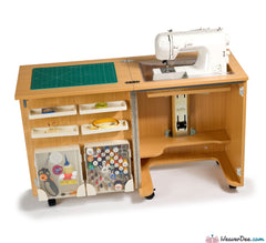 Horn - Horn Cub Plus 1010 Sewing Machine Cabinet - WeaverDee.com Sewing & Crafts - 1