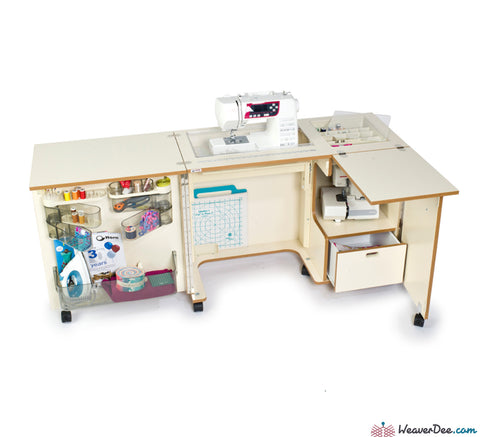 Horn - Horn 1081 Nova Sewing Machine Cabinet - WeaverDee.com Sewing & Crafts - 1