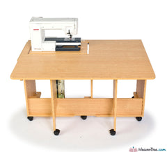 Horn - Horn Quilter's Delight Mk2 Sewing Machine Cabinet - WeaverDee.com Sewing & Crafts - 1
