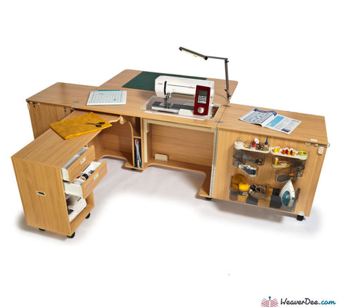 Horn - Horn Superior Sewing Machine Cabinet - WeaverDee.com Sewing & Crafts - 1