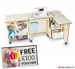 Horn 1081 Nova Sewing Machine Cabinet + FREE £100 VOUCHER