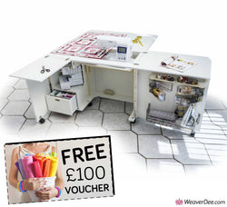Horn 2022 Maxi Eclipse Sewing Machine Cabinet + FREE £100 VOUCHER